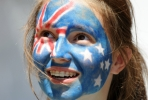 A young Australian nation must come face-to-face with its national flag. Photo by AFP.