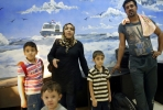 An Iraqi family bound for Australia are detained in Indonesia. Photo by AFP.