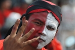 A supporter of the Indonesian Democratic Party-Struggle (PDI-P). Photo by AFP.