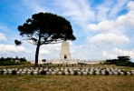 Lone Pine cemetery at Gallipoli, the final resting place of many ANZAC soldiers. Photo by Esther Lee on flickr.