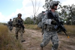 US soldiers train in Australia. Photo by Department of Defence.