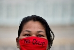No coup. Photo by AFP.