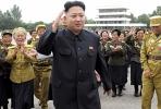 North Korean leader Kim Jung-un. Photo by AFP.