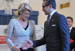 Australian foreign minister Julie Bishop with Indonesian counterpart Marty Natalegawa