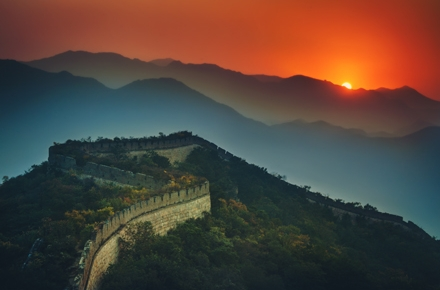 China's Great Wall. Photo by Stuck in Customs on flickr.